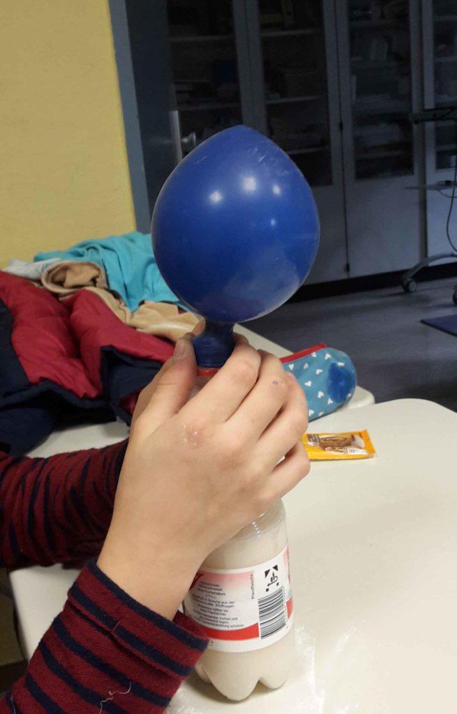 Luftballon-Experiment
