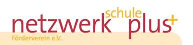 Logo Förderverein  netzwerk.schule.plus